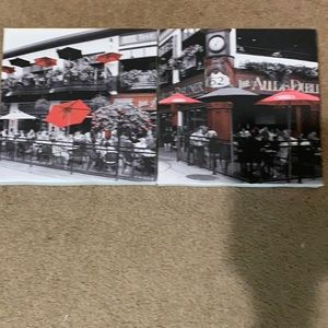 10 inches by 10 inches canvas photos